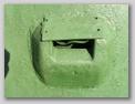 Пластинка закрывающая стеклоблок прибора наблюдения