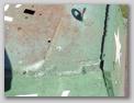 Вид сбоку на соединение крыши башни и борта, а также кормового листа