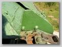 Задняя часть бортового листа в районе картера бортовой передачи