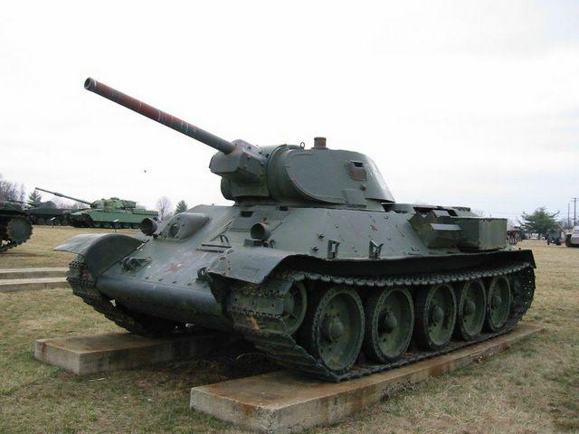 Танк Т-34-76 Абердинский полигон США