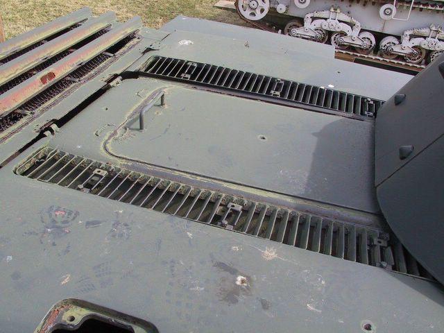 Крыша над моторным отделением