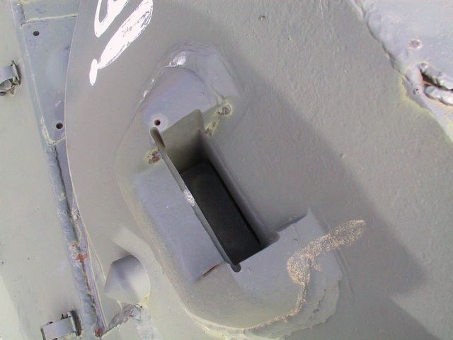 Бронировка башенного прибора наблюдения и заглушка пистолетного порта