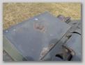 Бак на борту корпуса установленый немцами
