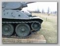 Вид справа на переднюю часть танка
