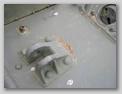 Сварочный шов в месте крепления буксирной петли