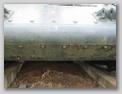 Головки гужонов в месте соединения носовой балки с лобовыми листами