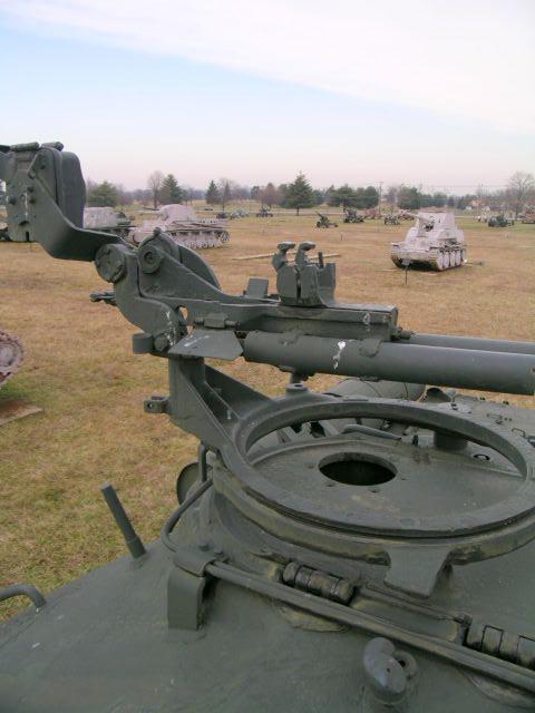 Станок зенитного пулемёта на турели