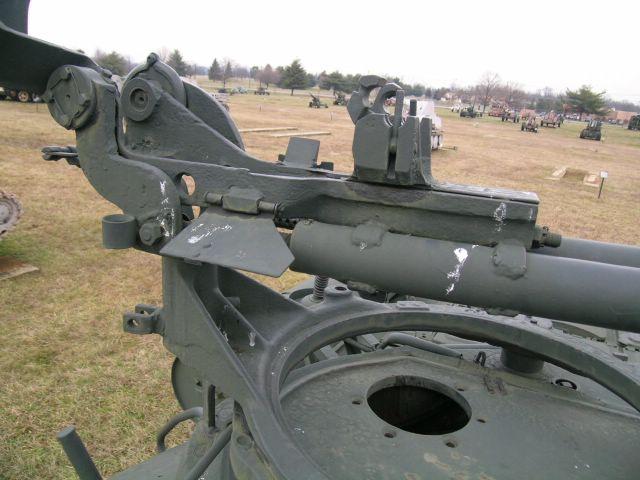 Фрагмент станка зенитного пулемёта