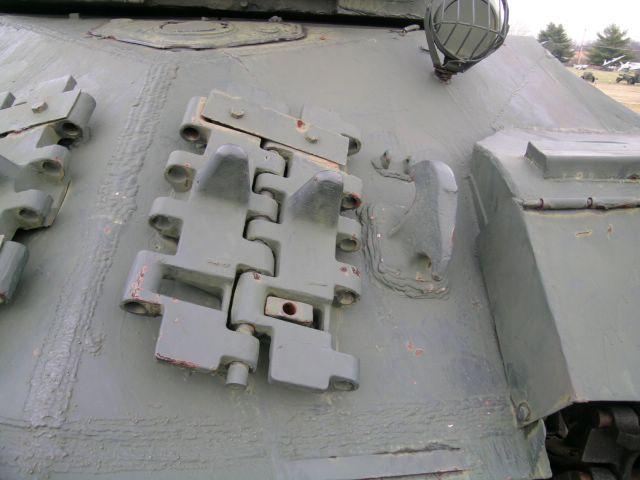 Левый верхний наклонный лист бронекорпуса танка