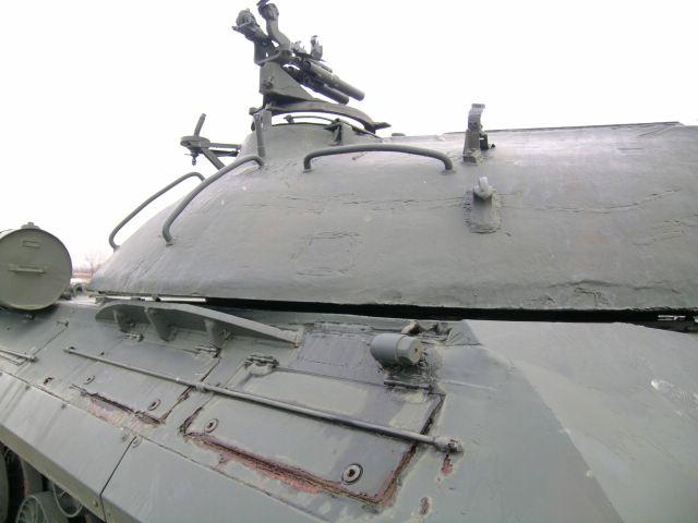 Правая сторона башни и передней части корпуса