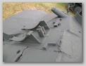 Задняя-левая часть кормы танка