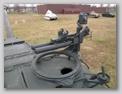 Нештатный антенный ввод и турель зенитного пулемёта со станком на башне танка