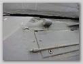 Крышка ящика ЗИП в передней части корпус