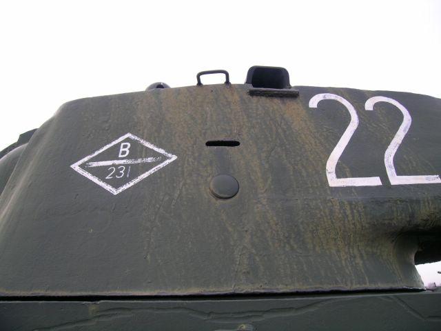 Левый борт башни танка КВ-1