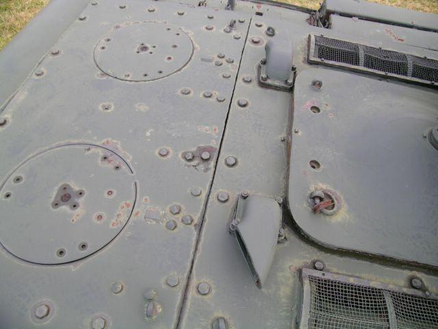 Расположение патрубков на крыше МТО