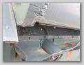 Отверстие отвода нагретого воздуха от радиаторов танка