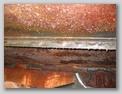 Место соединения фрагментов надгусеничной полки