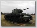 Вид справа-спереди на танк КВ-1
