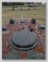 Крышка башенного люка, крупным планом