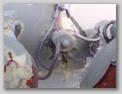 Соединительная колодка электропроводки, вид сверху