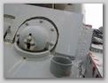 Антенный ввод и бронировка курсового пулемёта