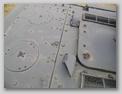 Расположение выпускных патрубков на крыше МТО