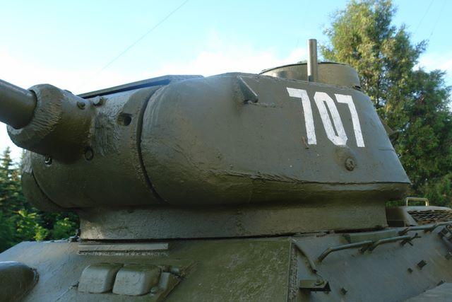 Башня танка, вид спереди-слева
