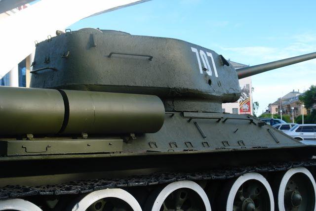Башня танка, вид справа-сзади