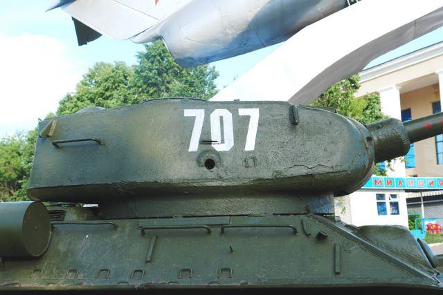 Башня танка, вид справа