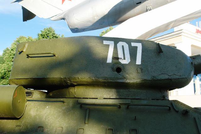 Башня танка, вид справа, иной ракурс