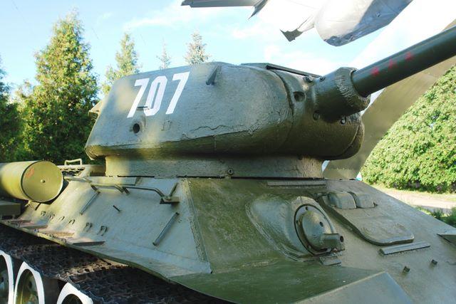 Башня танка вид спереди-справа