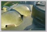 Бронеколпаки вентиляторов, вид справа-спереди