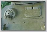 Крышка люка механика-водителя и бронеколпак пулемёта