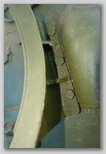 Фрагмент кронштейна для установки бочки с топливом