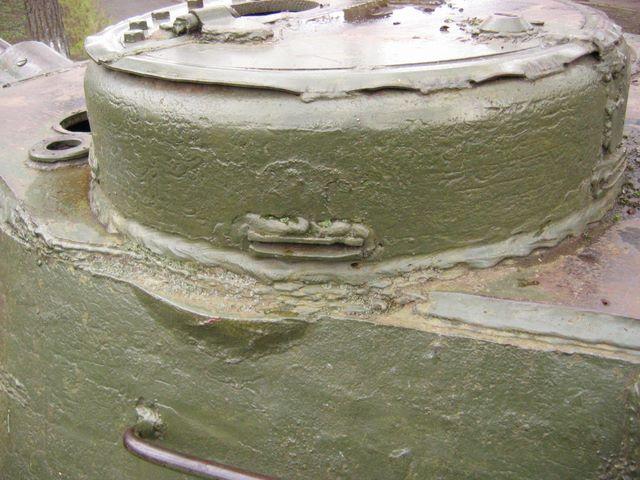 Командирская башенка, вид слева