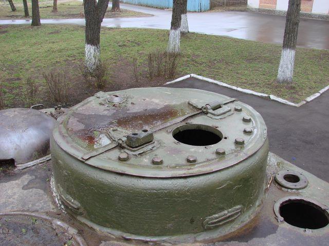 Командирская башенка, общий вид