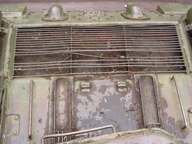 Крыша МТО, общий вид