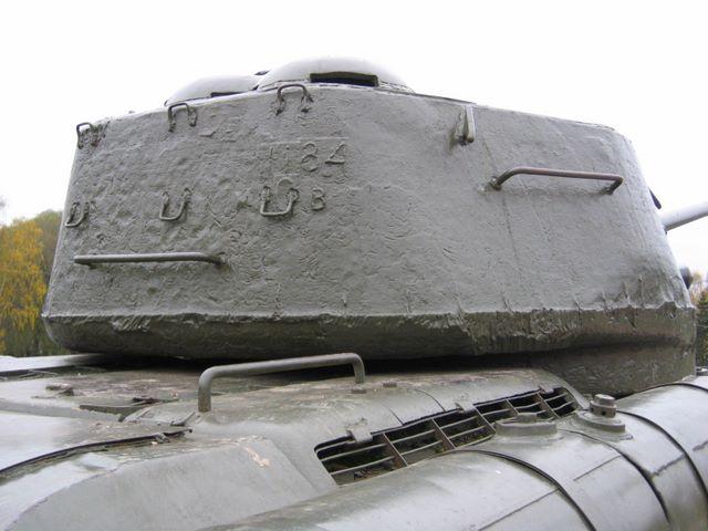 Башня танка, вид сзади-справа