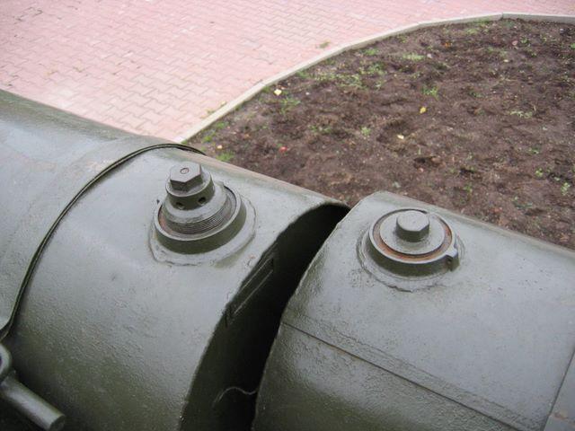 Различные типы пробок дополнительных топливных баков