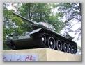 Вид на танк слева-спереди