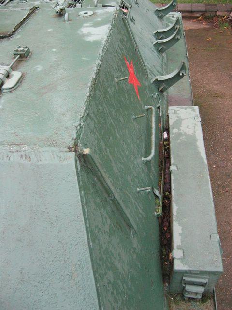 Вид на левый борт рубки