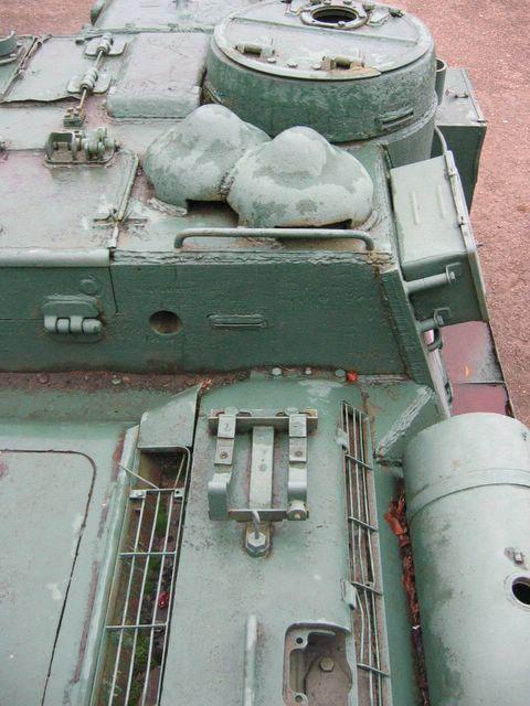 Вид на крышу рубки со стороны правого борта