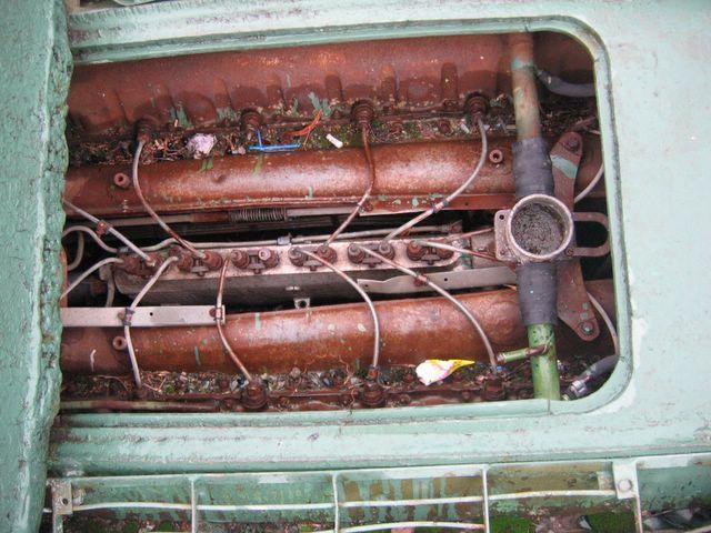 Двигатель В-2, вид сверху
