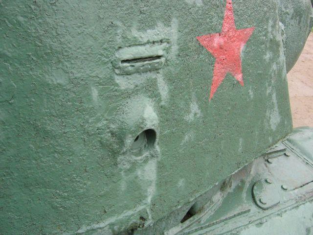 Пистолетный порт и смотровая щель
