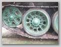 Литой каток и ведущее колесо