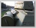 Вид сзади-слева на танк и башню