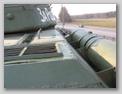 Вид на танк сзади, вдоль правого борта