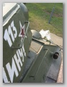 Нетипичные для уральских машин пулеотбойник на корпусе и поручень на башне, вид справа