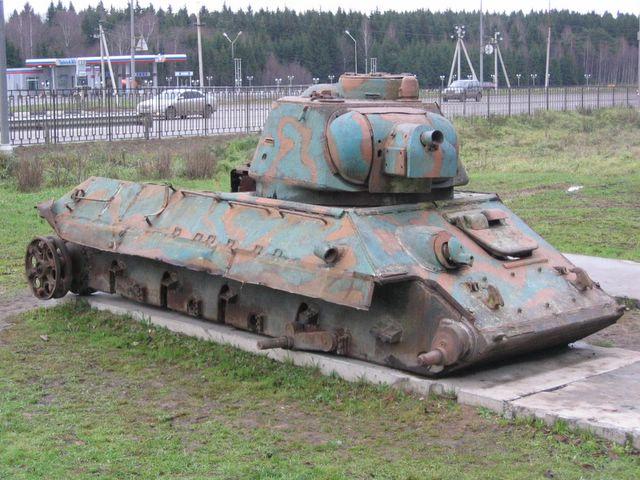 Как сделать танк т т-34-85 из бумаги