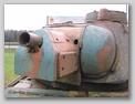 Маска орудия, вид спереди-слева